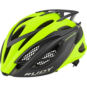 Rudy Project Racemaster Fietshelm, yellow fluo/black (matte)